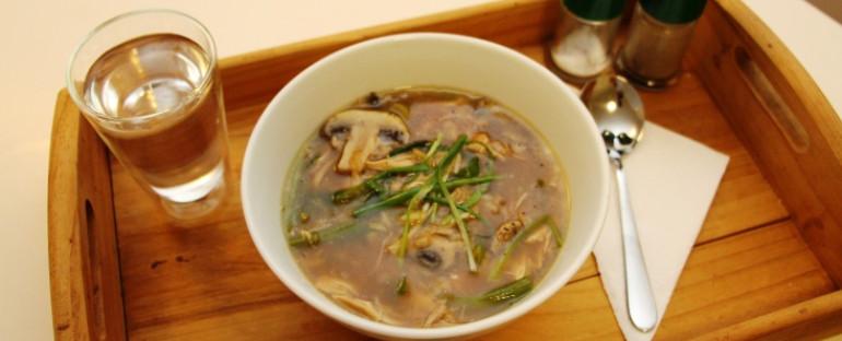 Make me feel better chicken soup